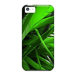 JUX1928cRTw Cases Covers Protector For Iphone 5c Amazing Green 3d Cases