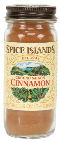 Spice Islands Cinnamon, Ground, 1.9-Ounce (Pack of -