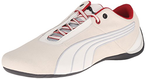 PUMA Men's Futurecats 1Nightcat Driving Shoe, Vaporous Gray/Vaporous Gray Silver, 14 M US