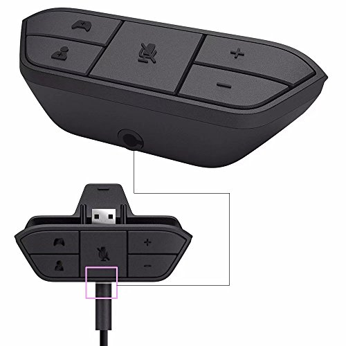 Jahyshow Stereo Headset Controllers Adapter Headphones Game Adapters For Xbox (Stereo Earphone Adapter)