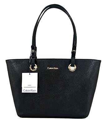 Calvin Klein Leather Handbag - Black
