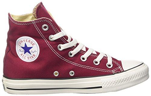 Converse M9613 All Star, Sneaker a Collo Alto Unisex-Adulto, Rosso, 37.5 EU
