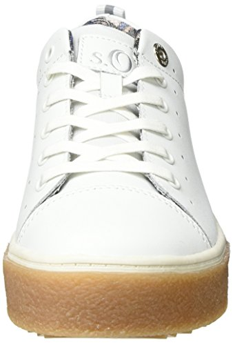 Sneakers top S oliver Women''s Low White 23615 qAqa4S0