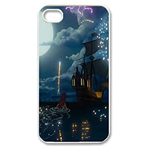 James-Bagg Phone case The Little Mermaid Protective Case For Iphone 4 4S case cover Style-9