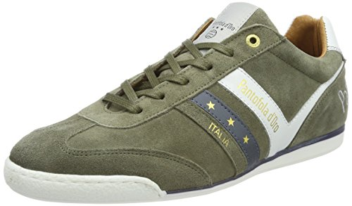 Suede d'Oro Vert Homme Low Baskets Olive Vasto Pantofola Uomo wadxqEn11v