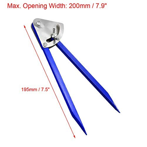 200mm Range Compass Divider Caliper 7.5 Inch Alloy Point Marking Compass 0-7.9 inch