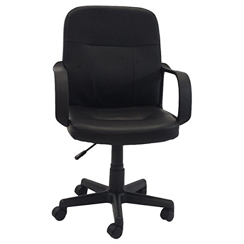 Adjustable Office Chair, Black by Generic