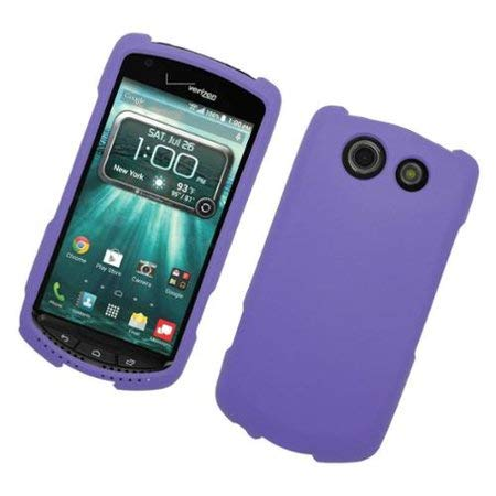 LF 4 in 1 Bundle - Hard Case Cover, Lf Stylus Pen, Screen Protector & Droid Wiper Accessory for (Verizon) Kyocera Brigadier E6782 (Blue)