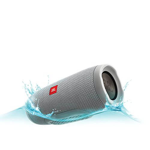 JBL Charge 3 Waterproof Portable Bluetooth Speaker (Gray) by JBL (Image #3)