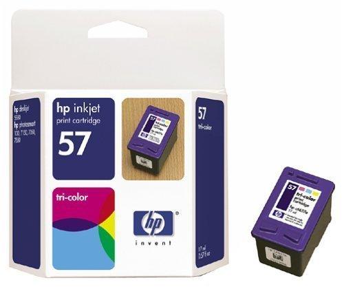 HP 57 TWINPACK Color inkjet cartridge (17 ml)