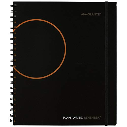 AT-A-GLANCE Planning Notebook with Reference Calendars, Plan.Write.Remember., 8-1/2