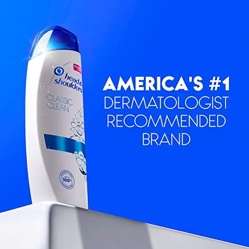 Head and Shoulders Shampoo, Anti Dandruff Treatment and Scalp Care, Classic Clean, 32.1 fl oz, Twin Pack