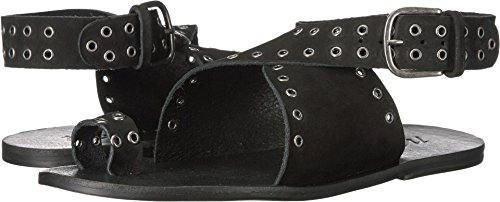 Matisse Starling Women US 7 Black Thong Sandal Matisse Leather Thongs