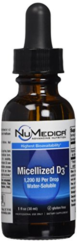 NuMedica, Micellized D3 1200 Higher Potency 1 Ounces