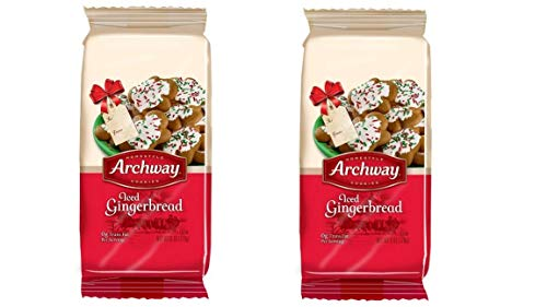 Archway Archway Iced Gingerbread Cookies, 6 Ounce (6 Ounce pack of 2)