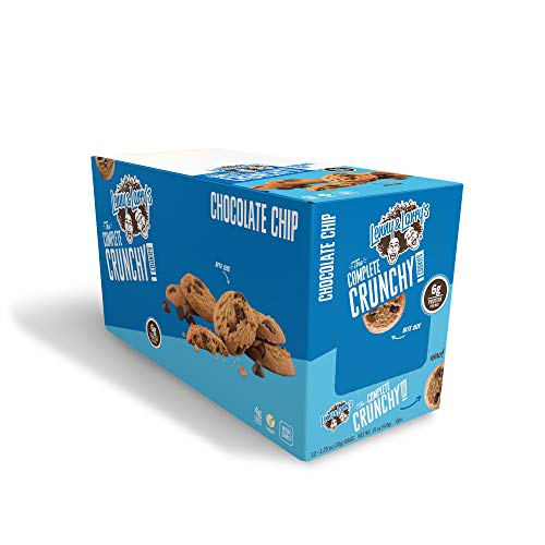 Lenny & Larry's The Complete Crunchy Cookie, Chocolate Chip, 1.25 Ounce, Pack of 12