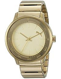 PUMA Unisex PU103412002 Cruise Analog Display Quartz Gold Watch