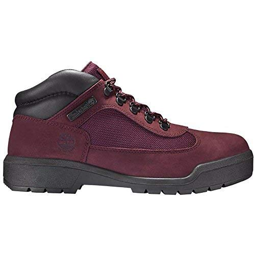 (Timerland Men's Waterproof Field Boots Burgundy tb0a1a2u (12 D(M) US))