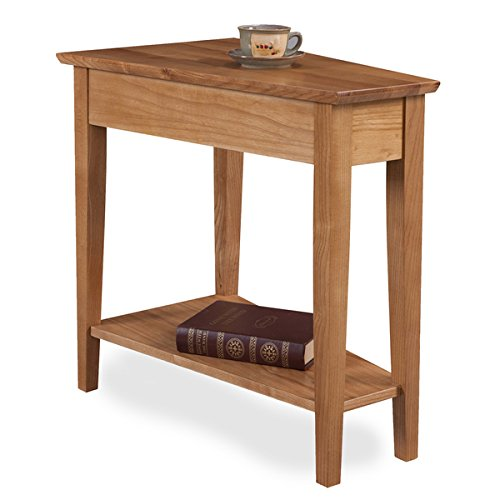 Rustic Solid Oak Recliner Wedge Table by KD Furnishings for sale  Delivered anywhere in USA