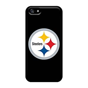 J-WALL Design High Quality Pittsburgh Steelers 2 Cover Case With Excellent Style For Iphone 5/5s