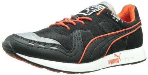 Puma - - Hombres Rs100 Aw Zapatos Black/Cherry Tomato
