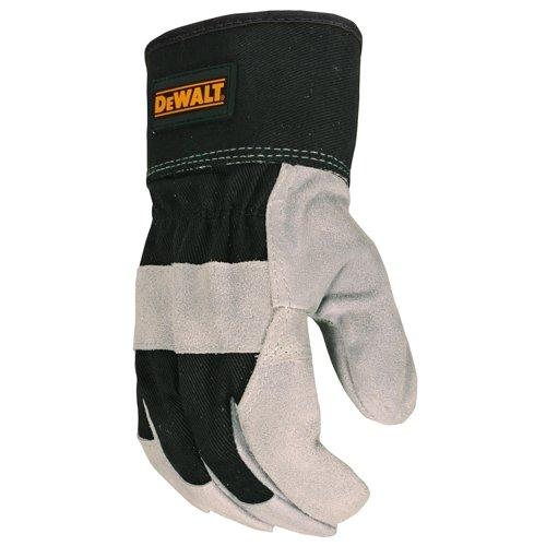 DEWALT DPG41 Premium Split Cowhide Leather Palm Glove - One Dozen - Large