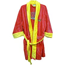 Wonder Woman Cotton Terry Cloth WOMEN'S Bath Robe Red