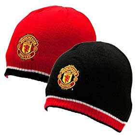 Manchester United FC - Official EPL Reversible Knitted Hat