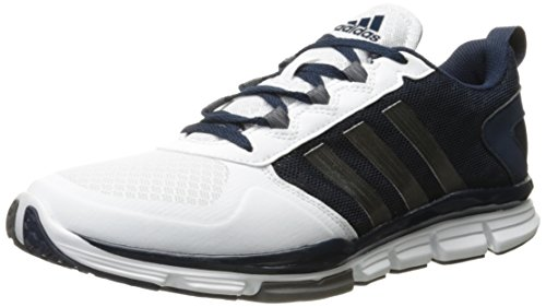 adidas Men's Freak X Mid Cross Trainer, Collegiate Navy/Carbon Met. White, ((9.5 M US)