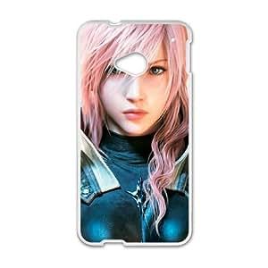 HTC One M7 White phone case final fantasy WCT4297264