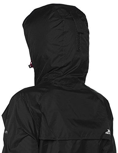 Jacket Coupe Trespass Pluie Qikpac Noir Femme Vestes Female AIqFEq