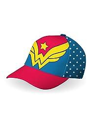 DC Comics Girl's Wonder Woman Baseball Cap Size 4-6X