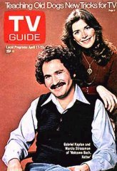 - TV Guide April 17-23, 1976 (Gabriel Kaplan and Marcia Strassman of Welcome Back, Kotter; Carlton: Rhoda's Invisible Doorman; Teaching Old Dogs New Tricks for TV, Volume 24, No. 16, Issue #1203)