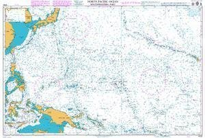 Ba Chart 4052  North Pacific Ocean Southwestern Anteil by United Kingdom Hydrographic Office