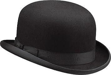 7d29ea7e65bf2b Amazon.com: Christys Of London Men's Comfort Bowler Hat Black 7 3/4 ...