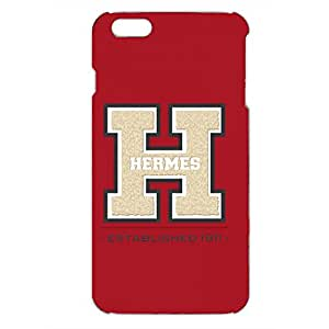 Custom Design Iphone 6PLUS/6S PLUS Hermes Paris Logo like Leather Phone case Customized for 3d vintage design hard cover case_red