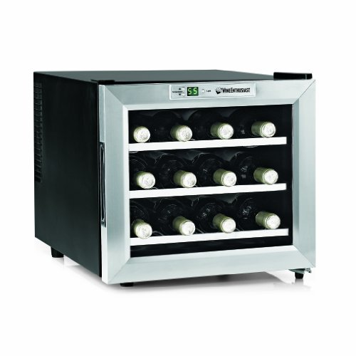 Wine Enthusiast Silent Refrigerator Stainless