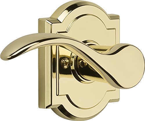 Baldwin Brass Half Dummy Lever - Baldwin Prestige Tobin Right-Handed Half-Dummy Lever in Polished Brass