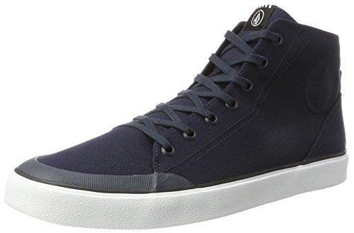 Volcom Hi Fi Shoe, Baskets Hautes Homme Bleu (Navy)