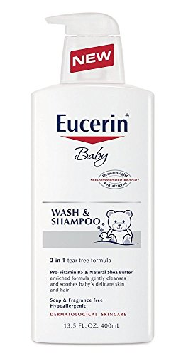 Eucerin Baby Baby Wash & Shampoo - 13.5 oz