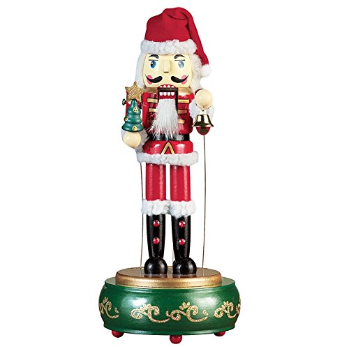 Musical Santa Christmas Nutcracker Figurine (Musical Nutcracker Santa)
