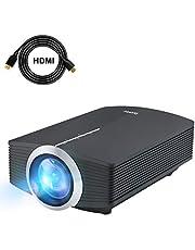 Vidéo projecteur, Deeplee LED Mini Portable LCD Home Cinéma Projecteur