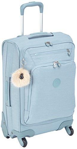 Kipling Youri Spin Equipaje de mano, 55 cm, 33 Litros, Azul (Dazz Soft Aloe): Amazon.es: Equipaje