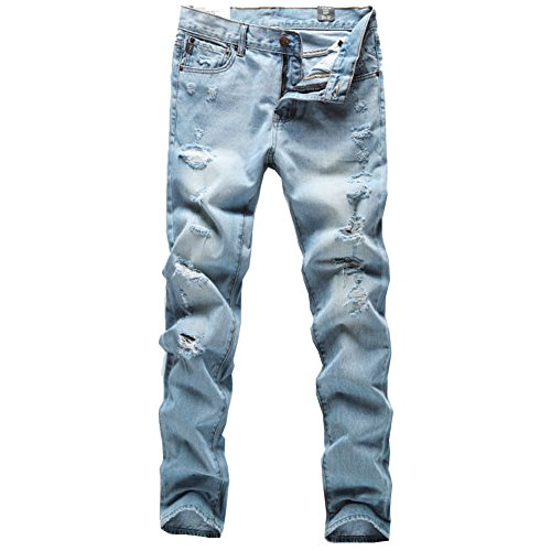 446a83bb296f Mens Skinny Ripped Jeans