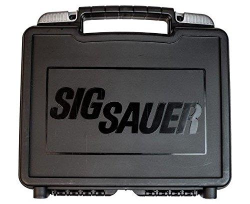 Sig Sauer Case, Single Pistol, Black Poly -