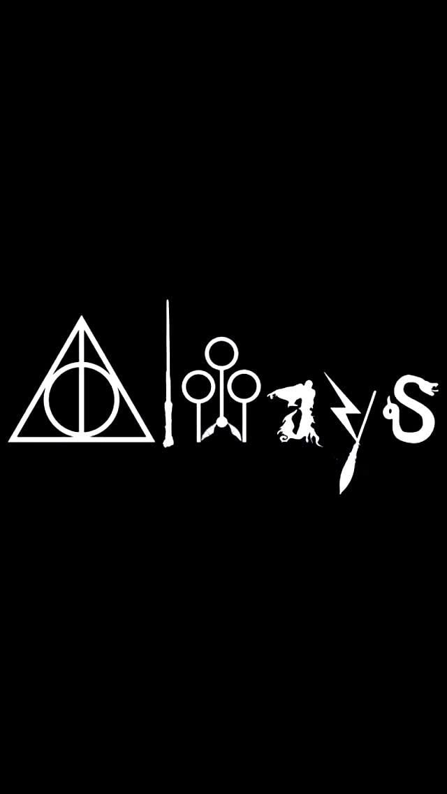 Always Harry Potter WHITE Vinyl Car/Laptop/Window/Wall Decal, Model: , Electronic Store