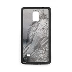 Samsung Galaxy Note 4 Cell Phone Case Black Punisher Faded C4L4VX