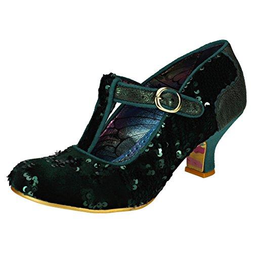 Irregular Choice Build Bridges Womens Shoes Green - 39 (Irregular Choice Women Footwear)