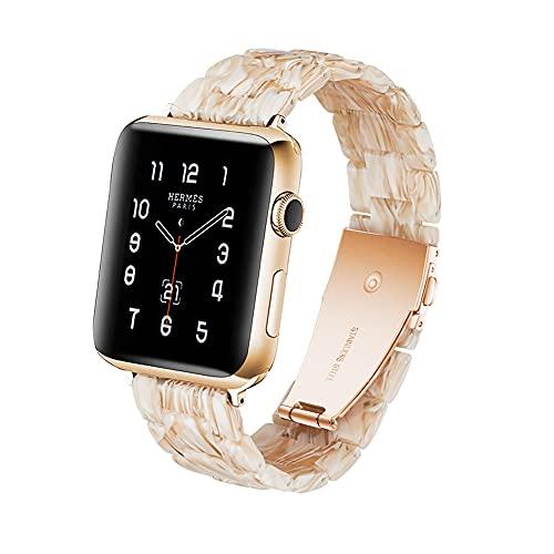 Malla HOPO Apple Watch 42/44mm 6/5/4/3/2/1/SE (blanco)