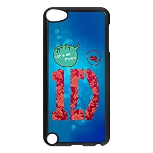 Custom One Direction Design Plastic Snap On Case Cover Shell Protector For ipod touch 5 5th